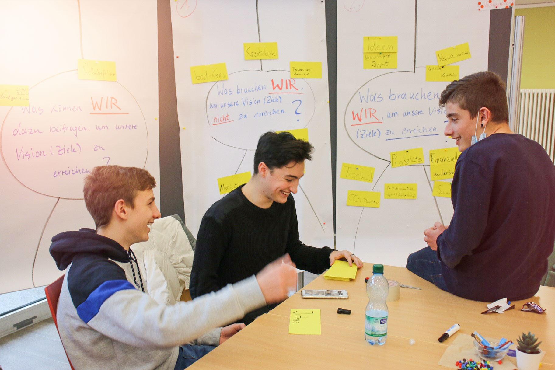 Schülerworkshops Digitalzentrum